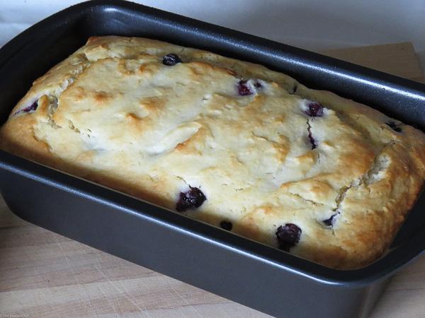 Blueberry-Lemon Yogurt Loaf - Starring blueberries and lemon this yogurt loaf is spring in every bite!