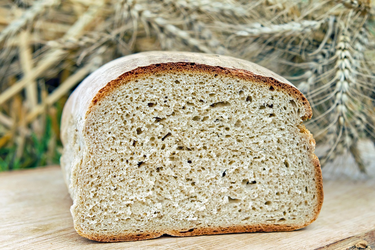 Celiac Disease and Reovirus: Bread containing gluten for structure