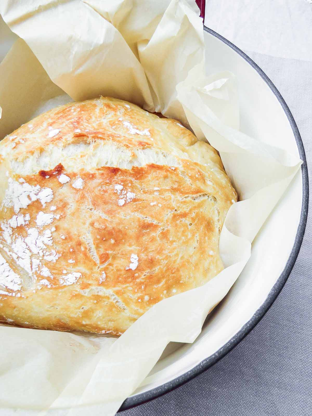 Not So Secret No Knead Bread - Flour, salt, yeast, and water. Mix it. Let it sit overnight. DO NOT knead it. Bake it. That's it!!! This not so secret no knead bread recipe has been floating about for YEARS! But if you haven't seen it yet or tried it, trust me it just became that thing you never knew you needed.
