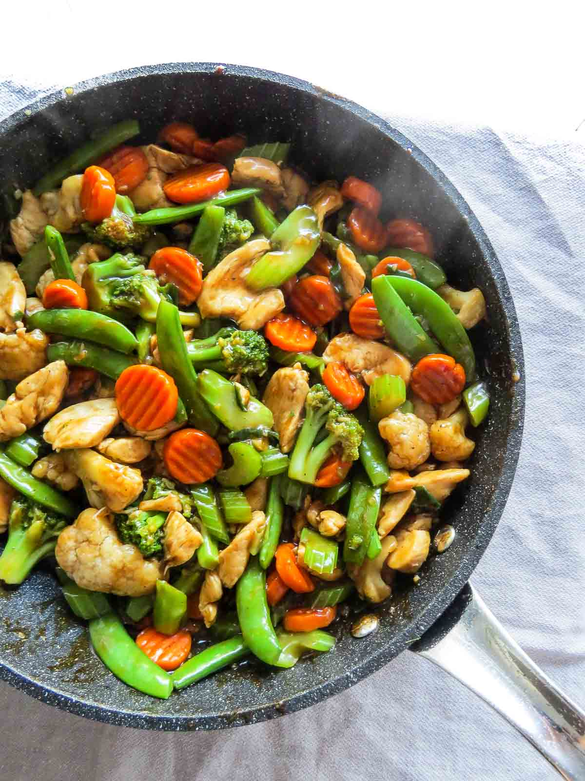 Kitchen sink chinese stir fry the beader chef kitchen sink chinese stir fry to the rescue got fresh and frozen vegetables lying around forumfinder Image collections