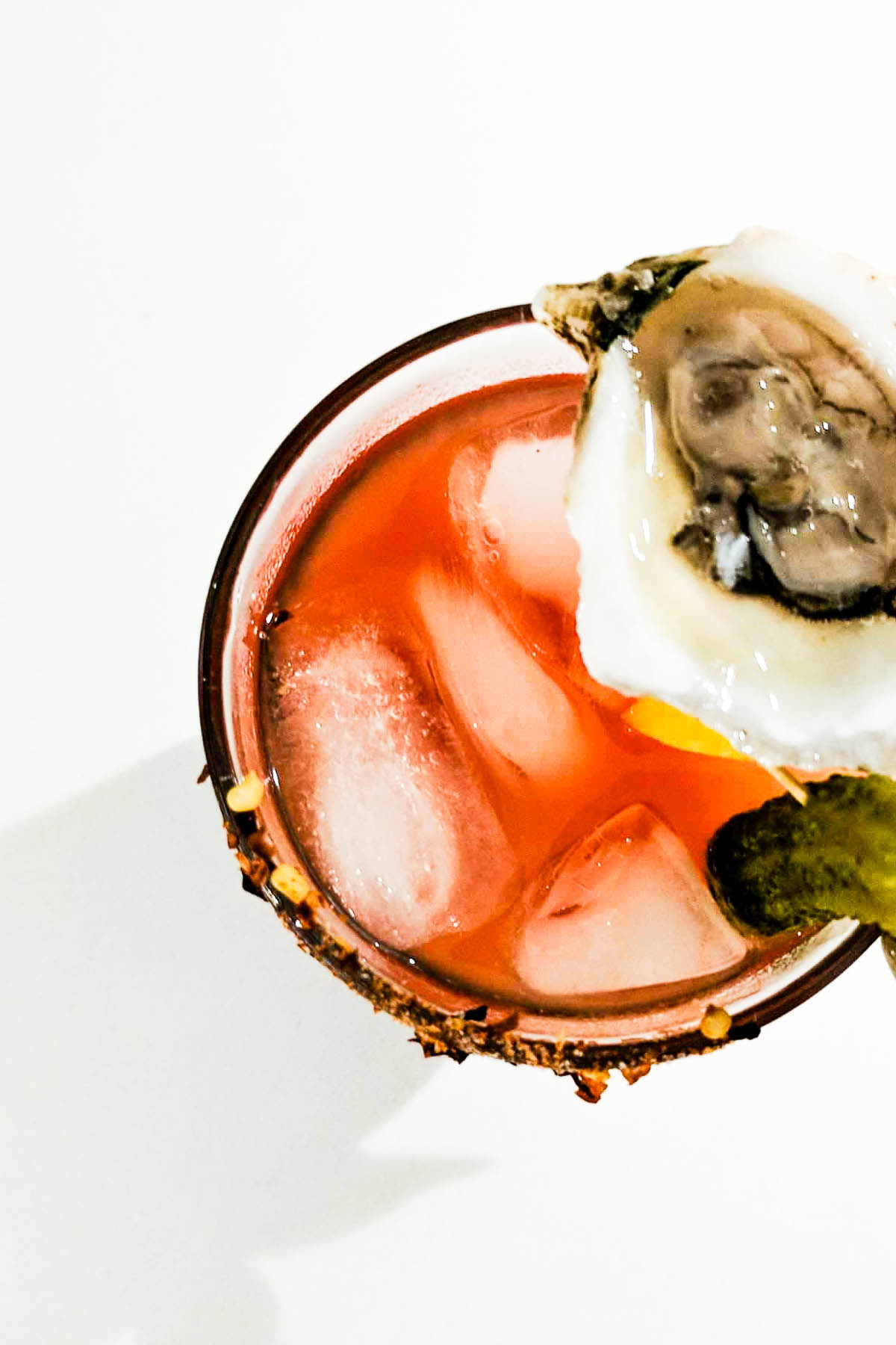 Whether it's Friday/Saturday night or Sunday morning brunch, this Classy Oyster Gin Caesar is just what the doc ordered.- thebeaderchef.com