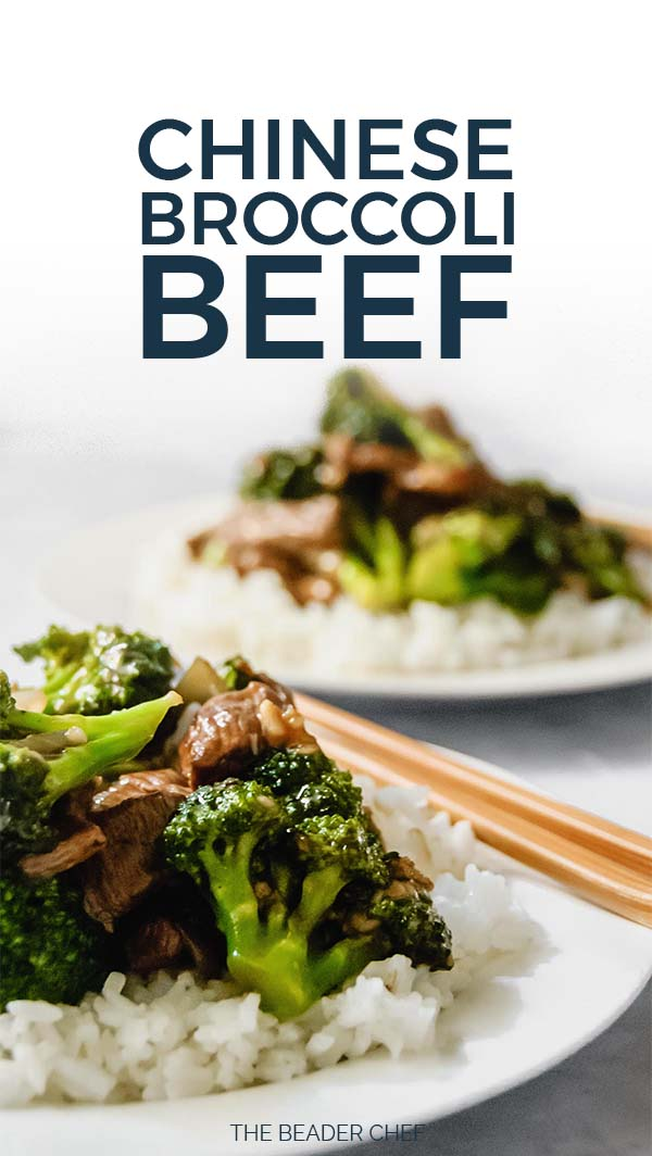 Chinese Broccoli Beef Pinterest Pin