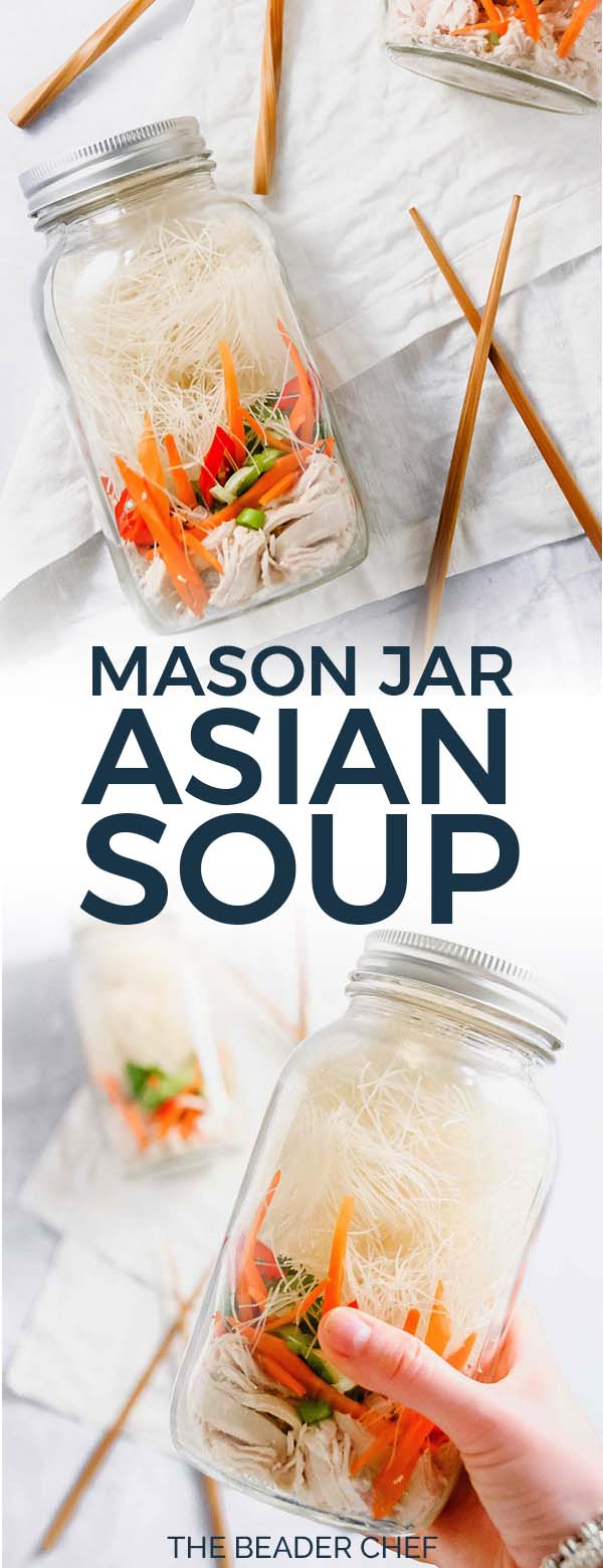 Mason Jar Asian Soup Pinterest Pin