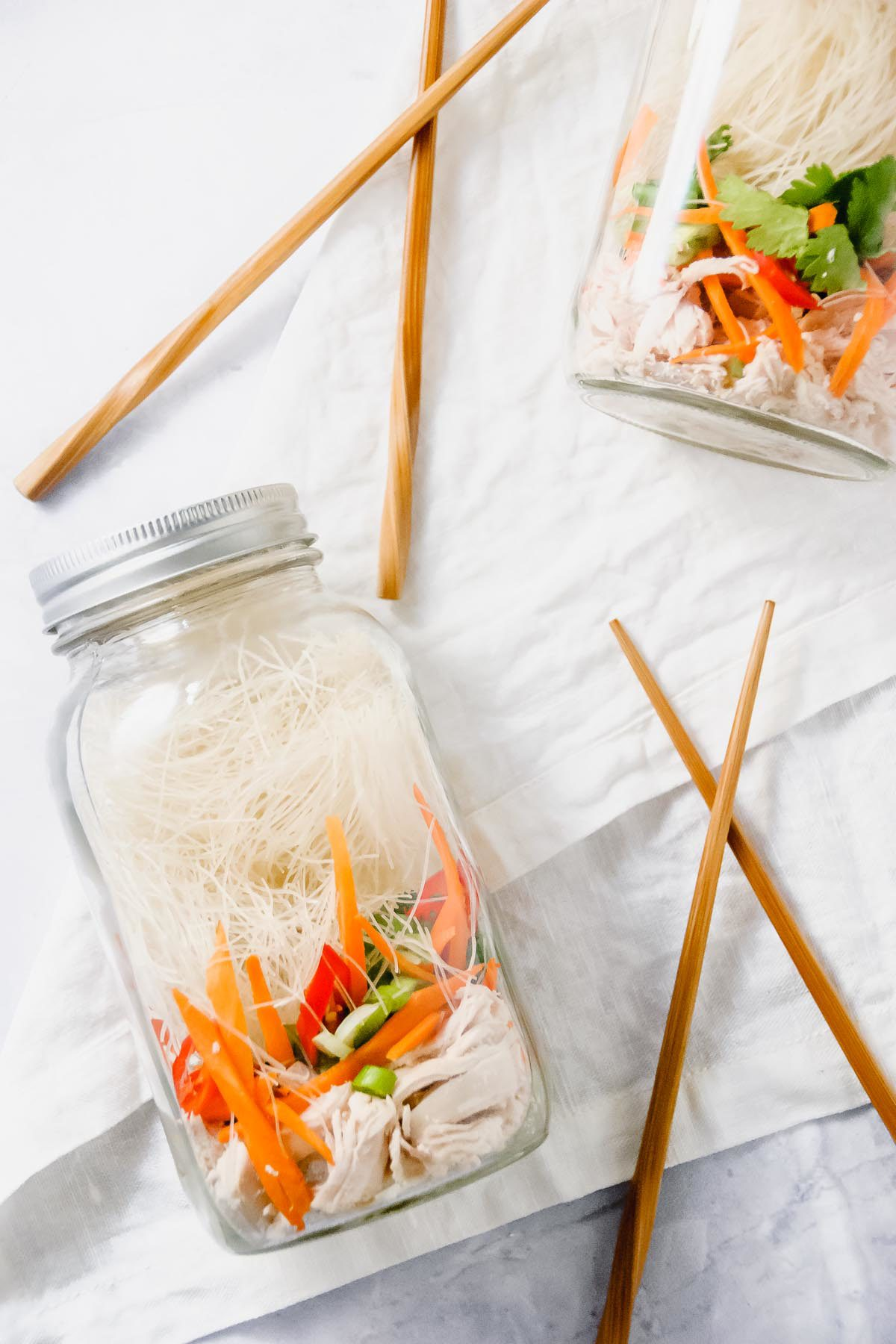 Mason Jar Asian Soup