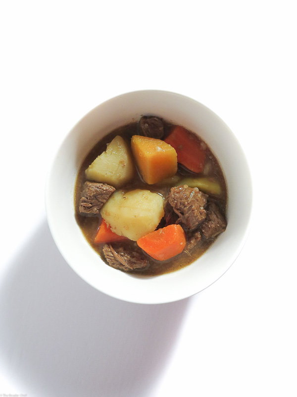 Simple & Easy Beef Stew - Using simple ingredients, this easy recipe is full of unhindered beef flavour and is comfort food at its best!