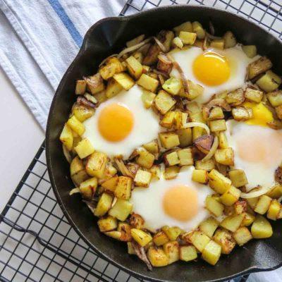 Skillet Hash & Eggs