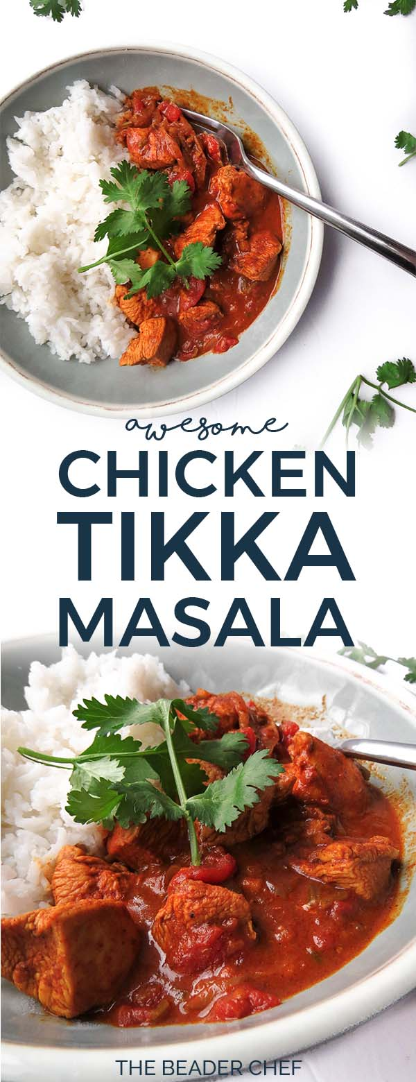 Awesome Chicken Tikka Masala Pinterest Pin