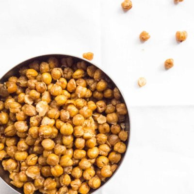 Crunchy Salted Roasted Chickpeas