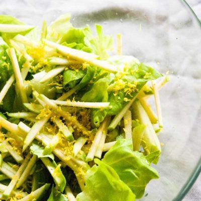 Lemony Apple Salad