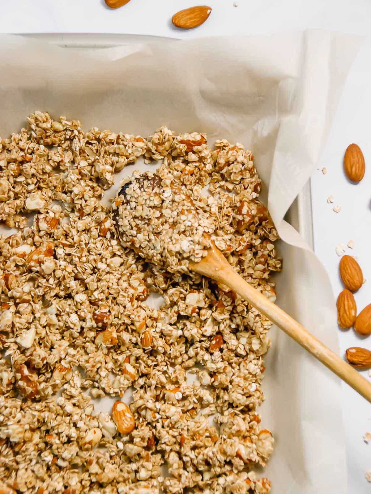 Deliciously Basic Homemade Granola