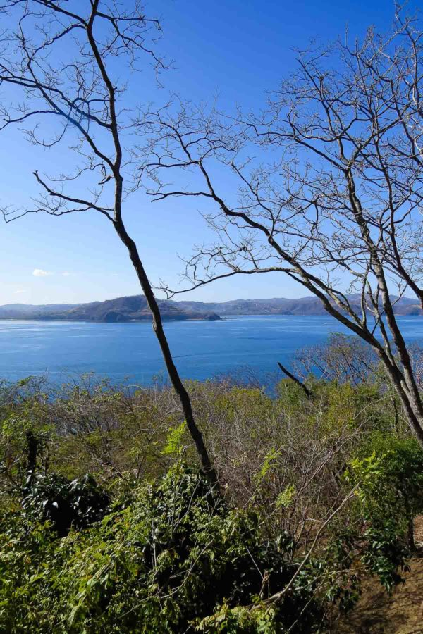 View of the Papagayo Peninsula, Guanacaste Costa Rica