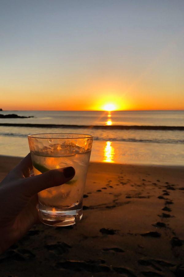 margaritas on prieta beach, costa rica