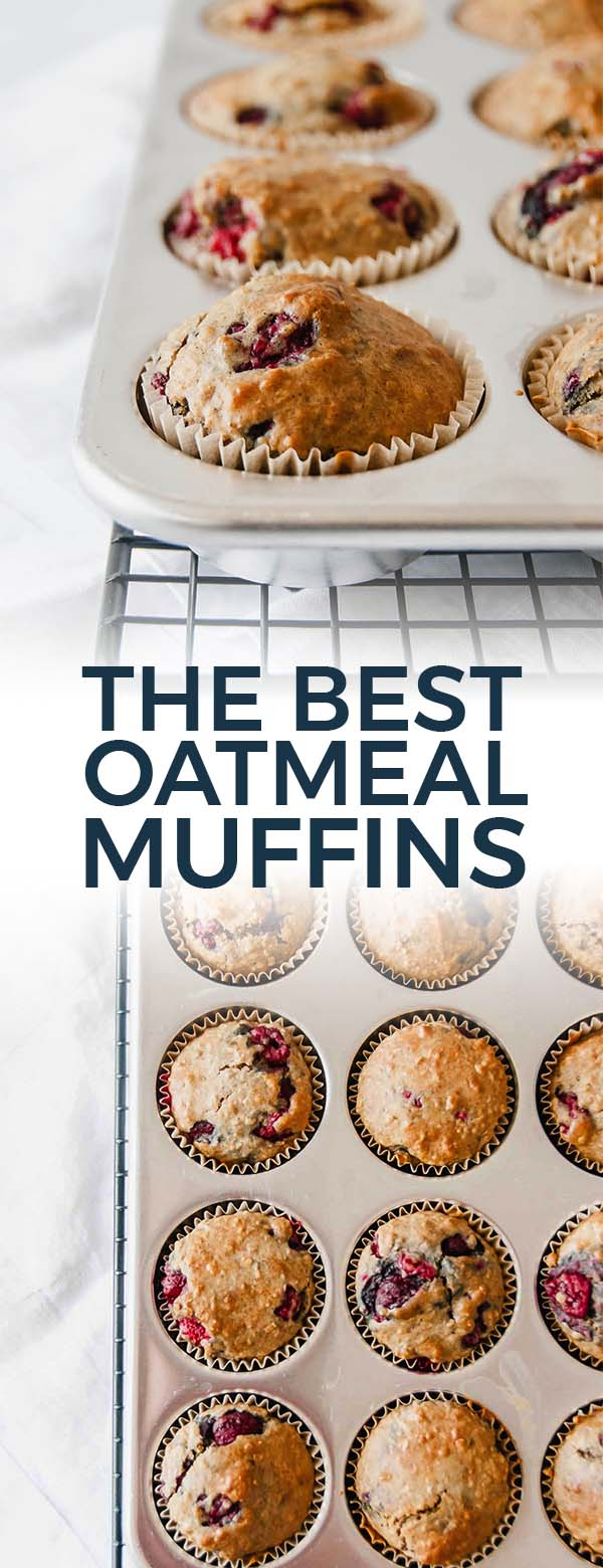 The beast Oatmeal Muffins Pinterest Pin