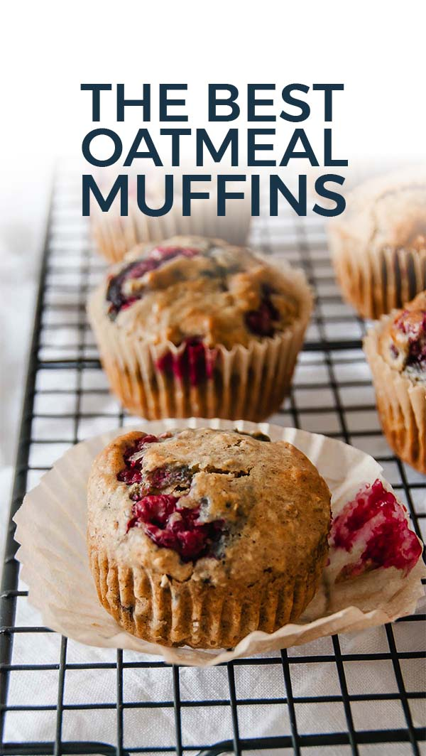 The beast Oatmeal Muffins Pinterest Pin