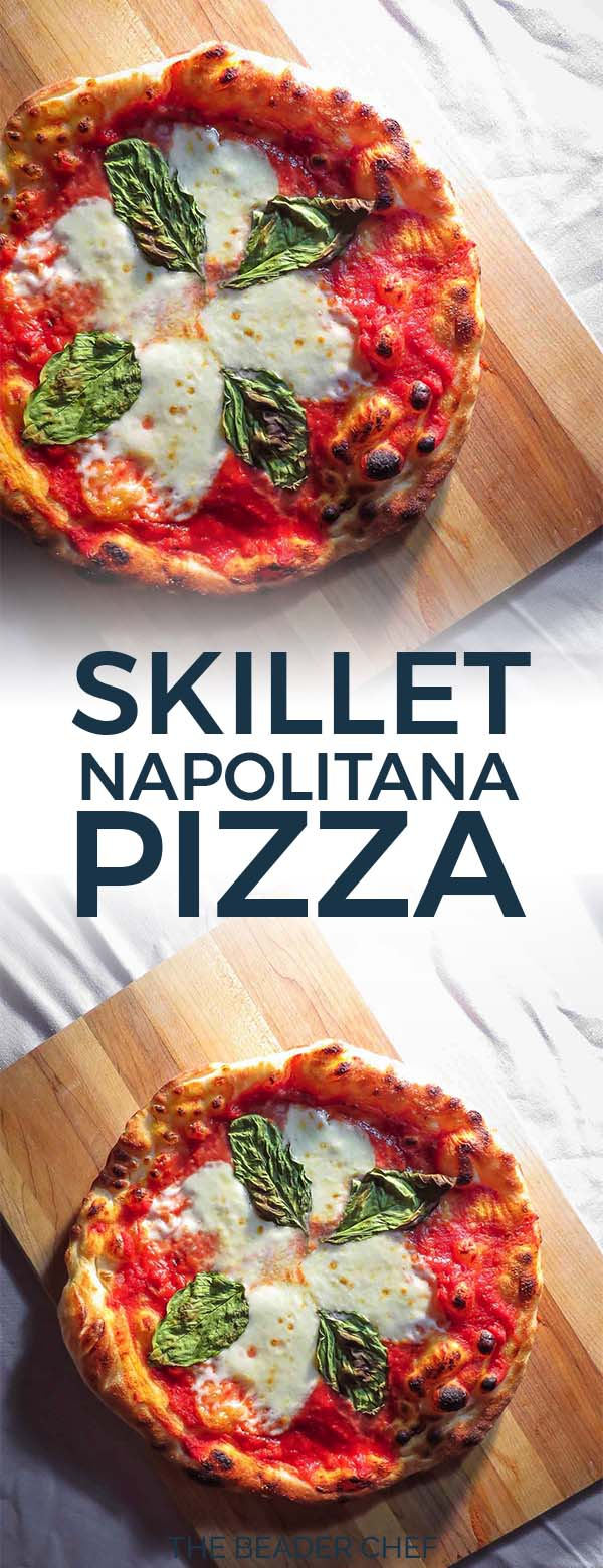 Skillet napolitana pizza pinterest pin