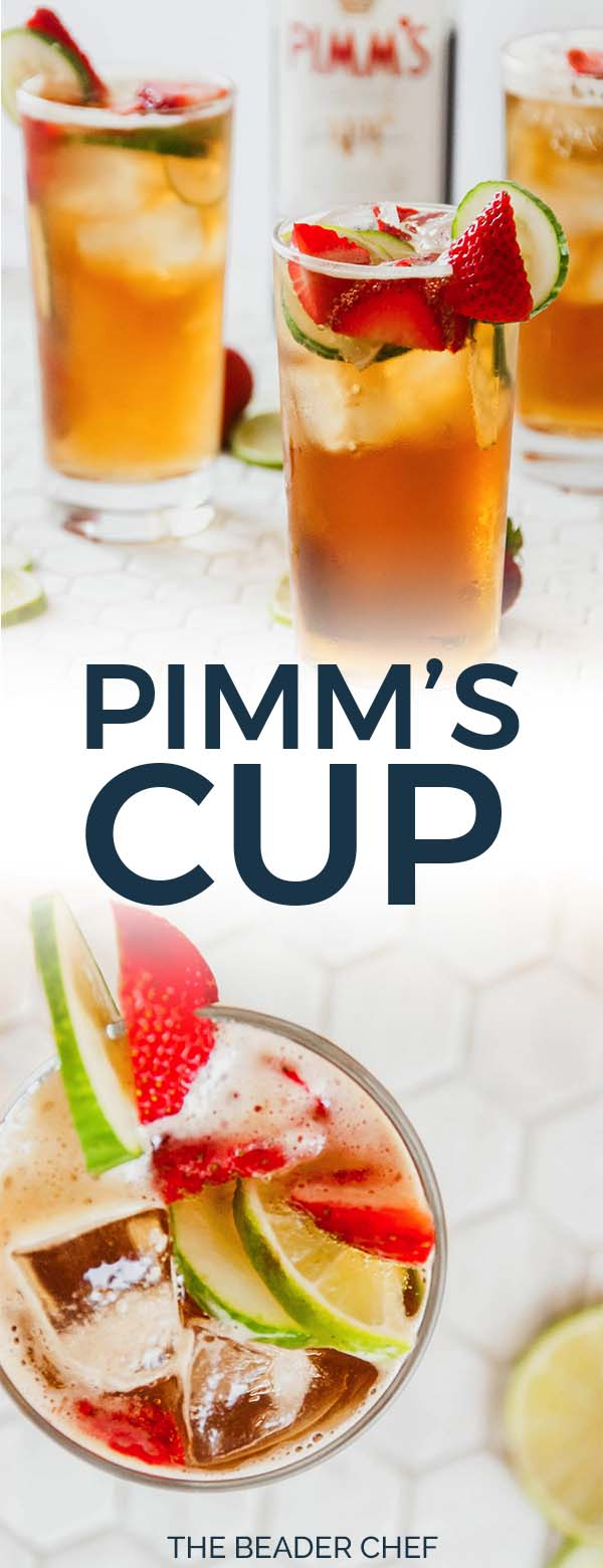Pimm's cup pinterest pin